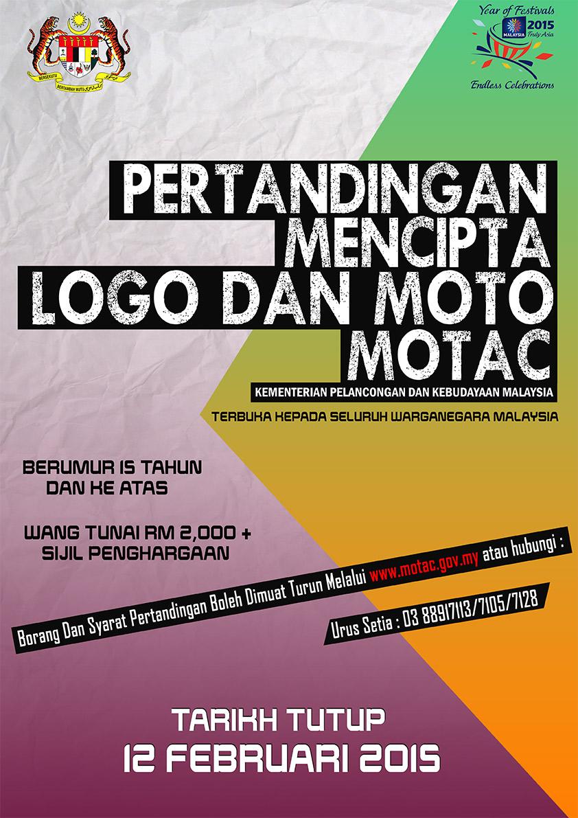 Pertandingan Mencipta Logo Dan Moto Motac Portal Rasmi Kementerian Pelancongan Seni Dan Budaya Malaysia